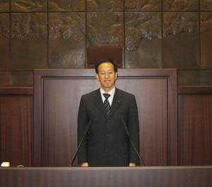 熊本市議会議場