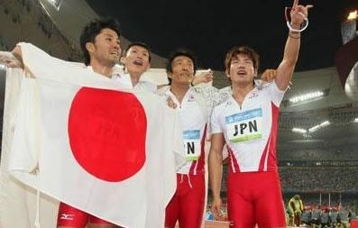 400Mリレー銅メダル