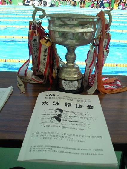 水泳競技会